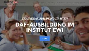 EWI DaF-Ausbildung